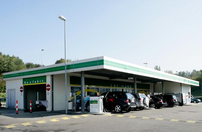 Autowaschanlage BP Service Kloten