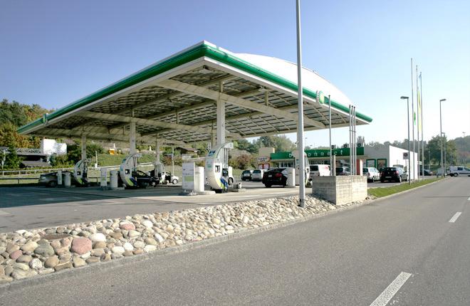Tankstelle BP Airport