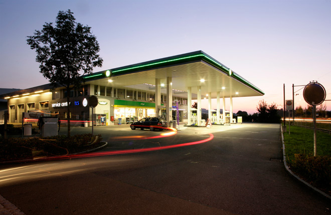 Tankstelle BP ST Gallen